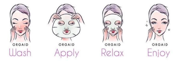 Como usar a máscara de papel