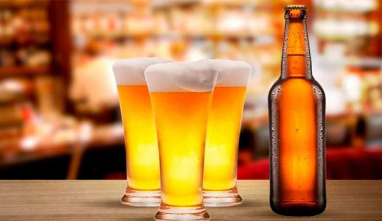 Corte a cerveja para fazer a barriga murchar rápido