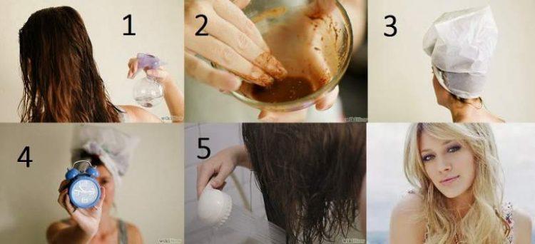 Receita caseira de canela para clarear o cabelo sem química