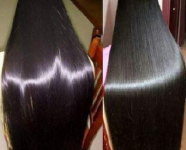 Receita caseira e natural para alisar o cabelo