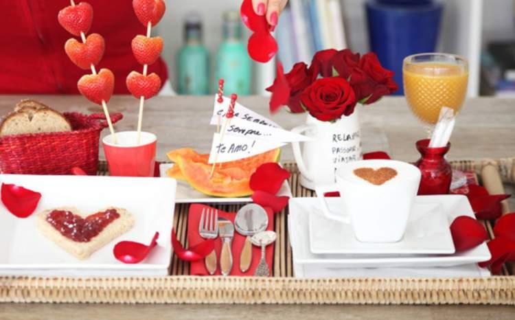 Extremamente 15 ideias de surpresa com café da manhã no dia dos namorados  MD17