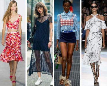 Tendências da moda que vão bombar no verão 2018