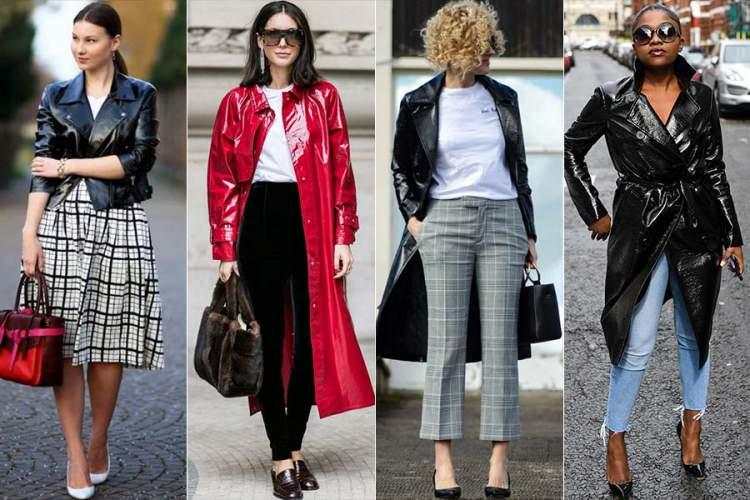 Veja como usar jaqueta de vinil