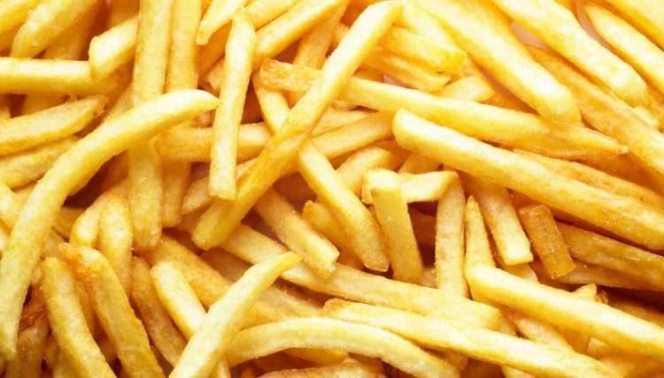 Comer batata frita pode dobrar o risco de morte
