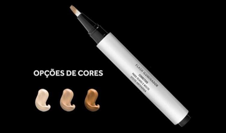 Iluminador em caneta para um ar descansado é um dos itens de maquiagem baratinhos que substituem as marcas caras e importadas