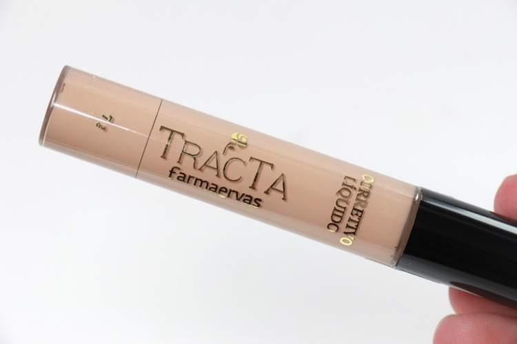 corretivo líquido da Tracta é um dos itens de maquiagem baratinhos que substituem as marcas caras e importadas
