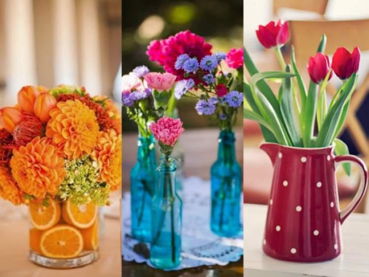Populares 17 maneiras inovadoras de decorar uma casa com flores - Site de  RY75