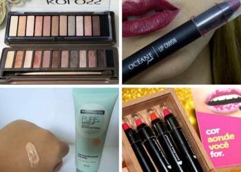 Itens de maquiagem baratinhos que substituem as marcas caras e importadas