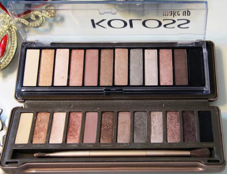 paleta Luxury da Koloss é um dos itens de maquiagem baratinhos que substituem as marcas caras e importadas