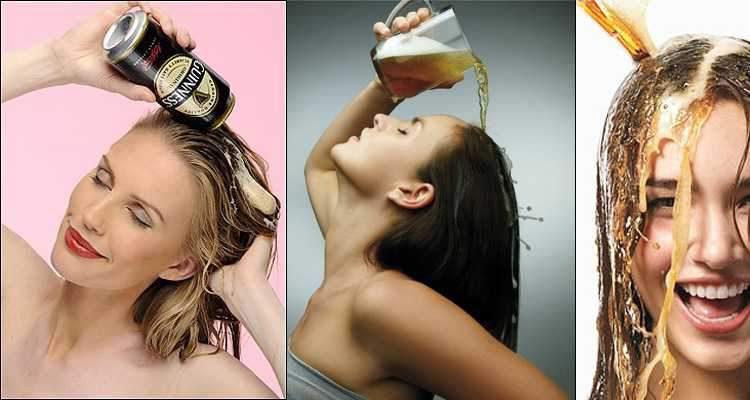 Use a cerveja para dar volume aos cabelos finos