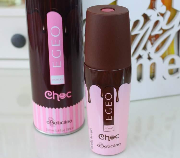 Egeo Choc de O Boticário é um dos perfumes femininos com notas de chocolate que irão te deixar cheirosa e sexy