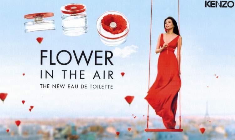 Flower in the Air Kenzo é um dos perfumes florais que fazem as mulheres se sentirem poderosas