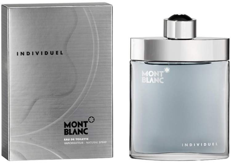 Individuel de Mont Blanc é um dos perfumes femininos com notas de chocolate que irão te deixar cheirosa e sexy
