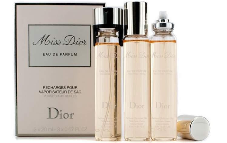 948577a691f 1 – Purse Spray Miss Dior (Dior) é um perfume perfeito para carregar na  bolsa
