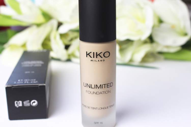 Unlimited Foundation SPF da Kiko Milano