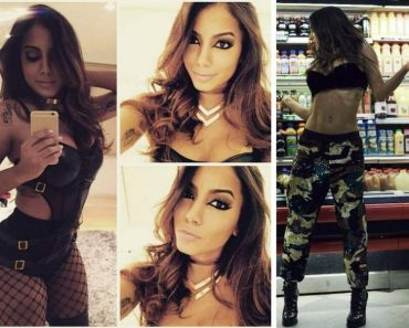 Os looks da Anitta que quebraram a Internet