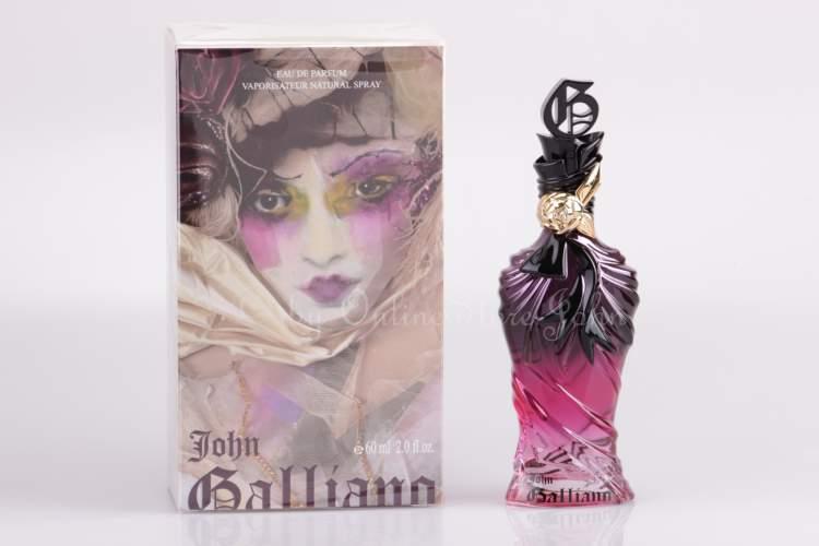 o perfume John Galliano de John Galliano em sua versão feminina, é uma das embalagens mais poderosas no mundo dos perfumes