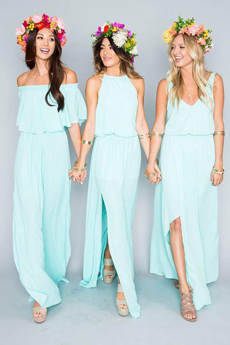 Sugestão de vestido para usar em casamento diurno na praia