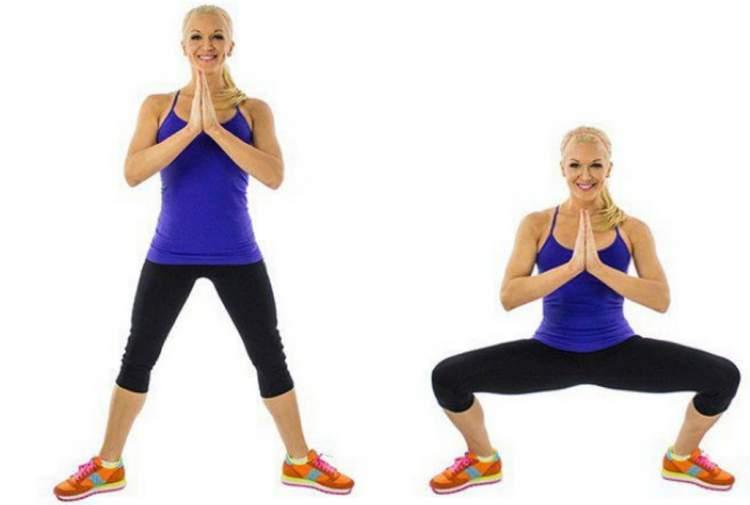 Agachamento plié é um dos melhores exercícios para eliminar gordura da coxa