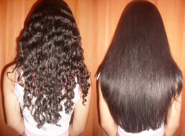 Alisamento dos fios é uma maneira de mudar o visual sem cortar o cabelo