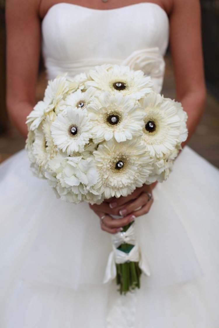 Gérbera é uma das flores para buquês e arranjos