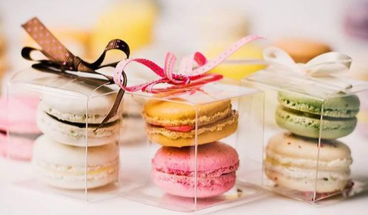 Macarons são ótimas lembrancinhas de casamento