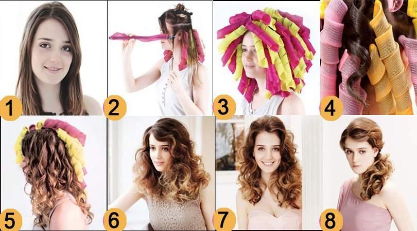 Usando curl formers para cachear o cabelo sem danificar os fios