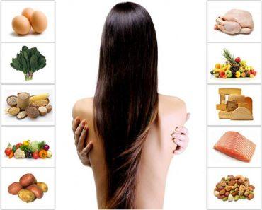 alimentos poderosos para seu cabelo parar de cair e crescer mais rápido