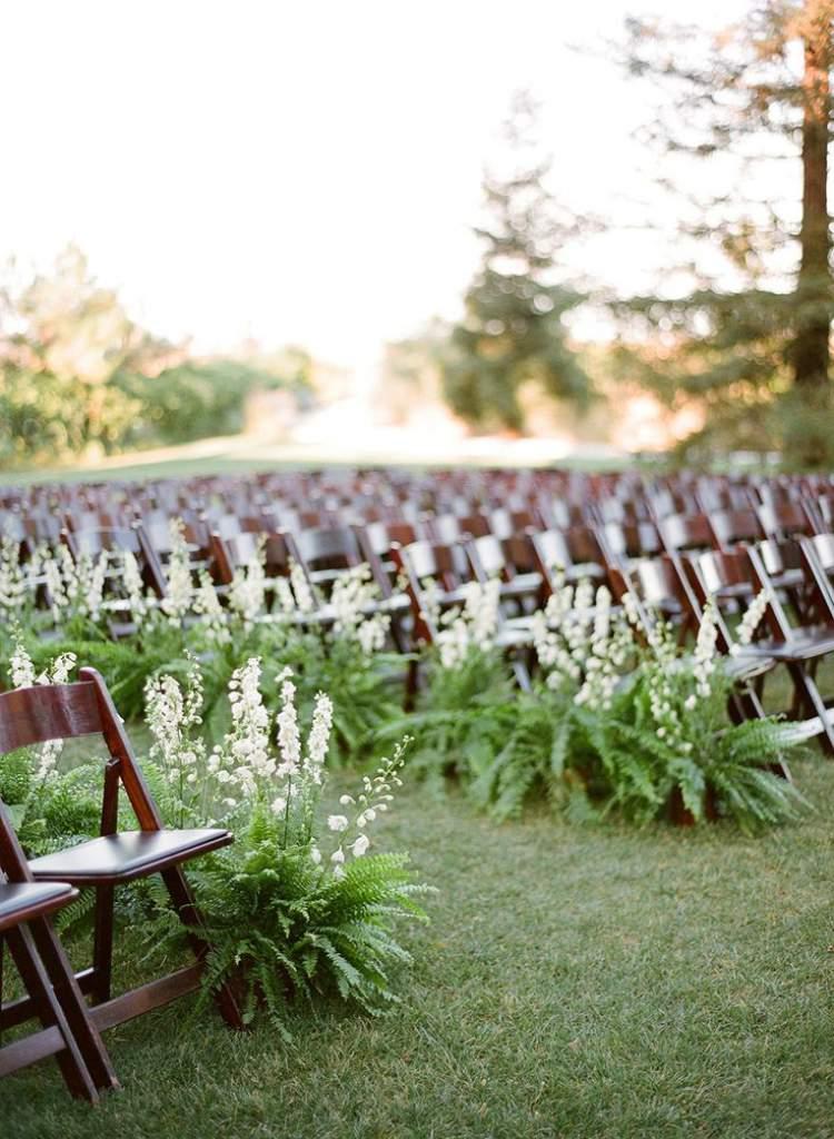 Como decorar um casamento com folhagens