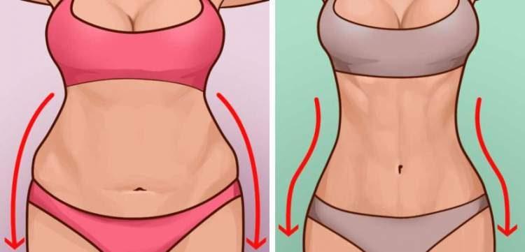 Como reduzir a barriga eliminando 1 k por dia
