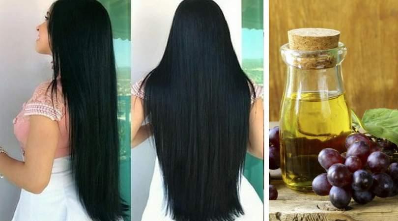 Como usar o óleo de uva para fazer o cabelo crescer muito rápido