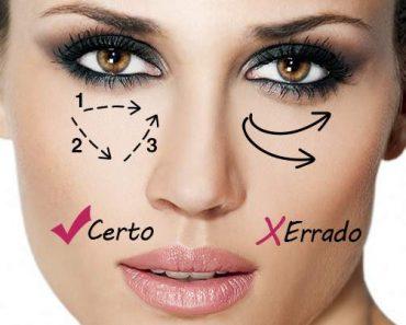 Dicas de maquiagem que ajudam a disfarçar as olheiras
