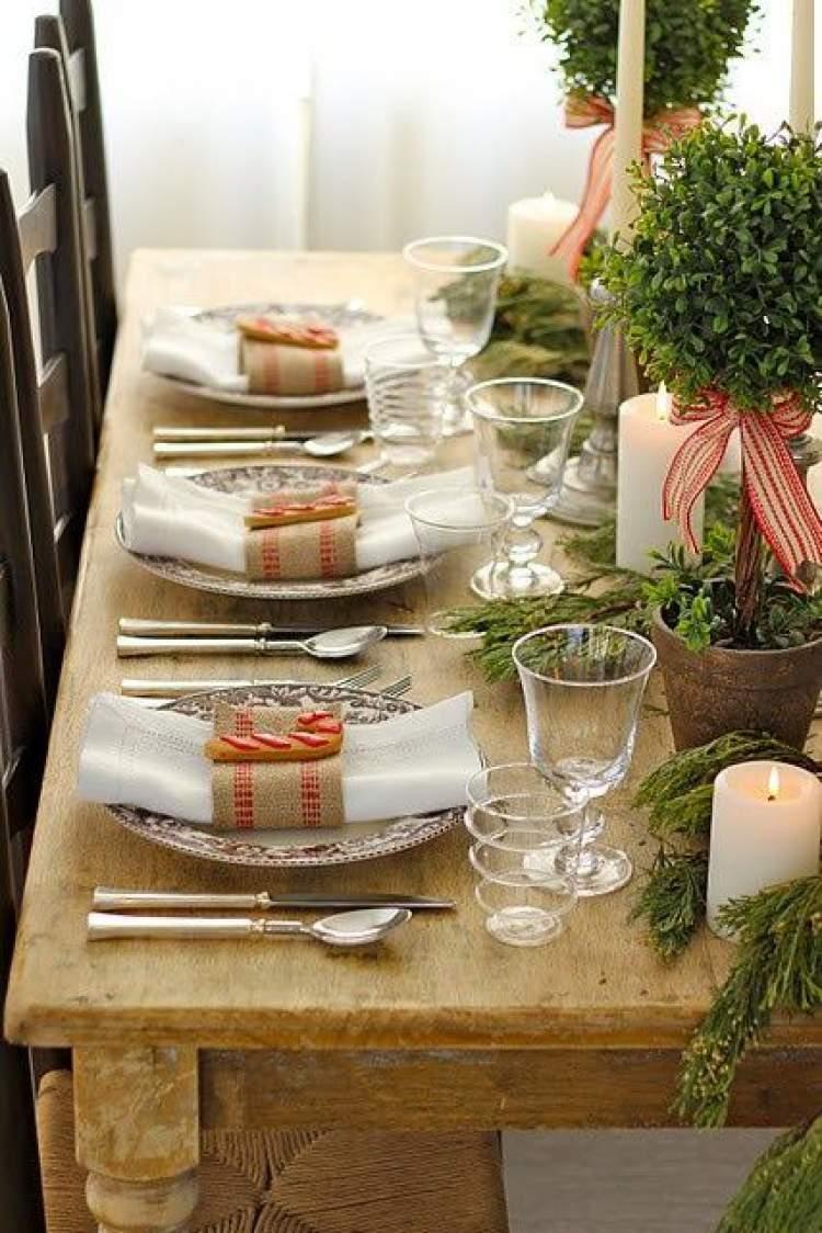 Ideia para decoração rústica de casamento