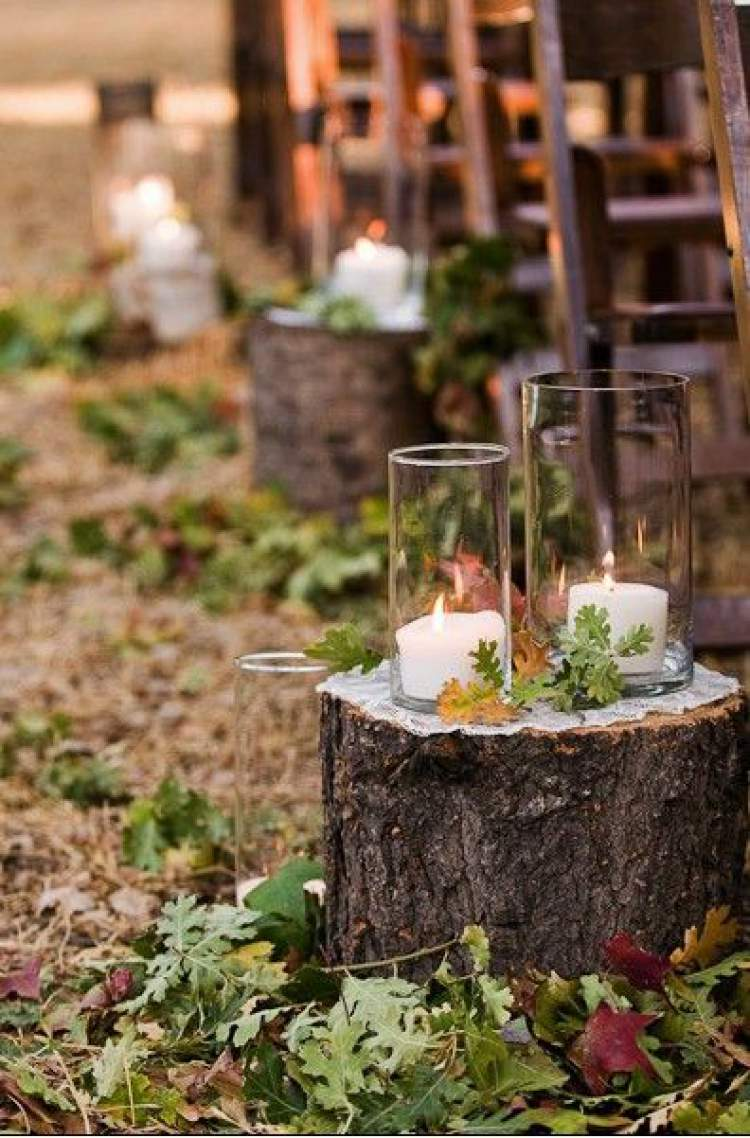 Inspiração para fazer uma belíssima decoração de casamento com folhagens