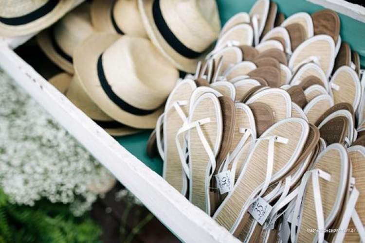 Lembrancinhas para casamento na praia