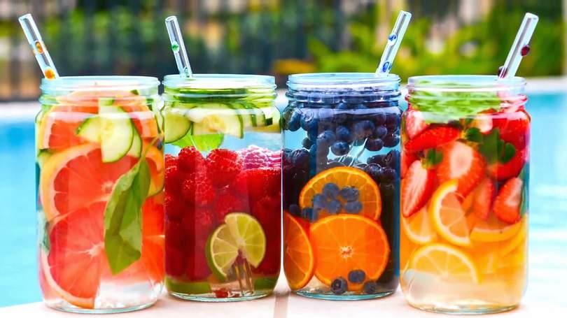 Maneiras de dar sabor a água para perder peso e diminuir a barriga