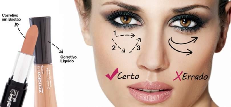 Maquiagem para disfarçar olheiras