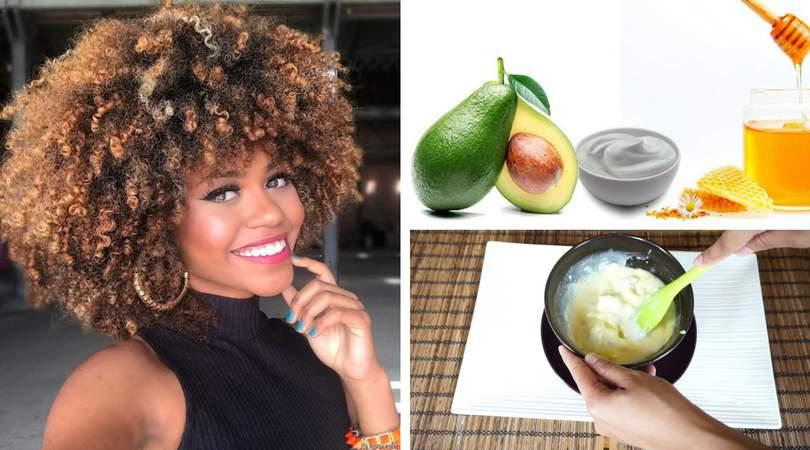Receitas caseiras para hidratar cabelos afros