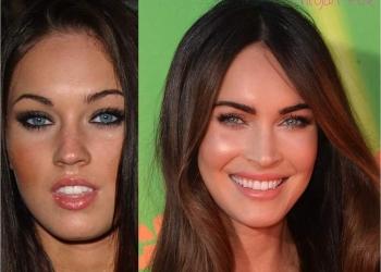 Sobrancelhas da Megan Fox: Antes e Depois