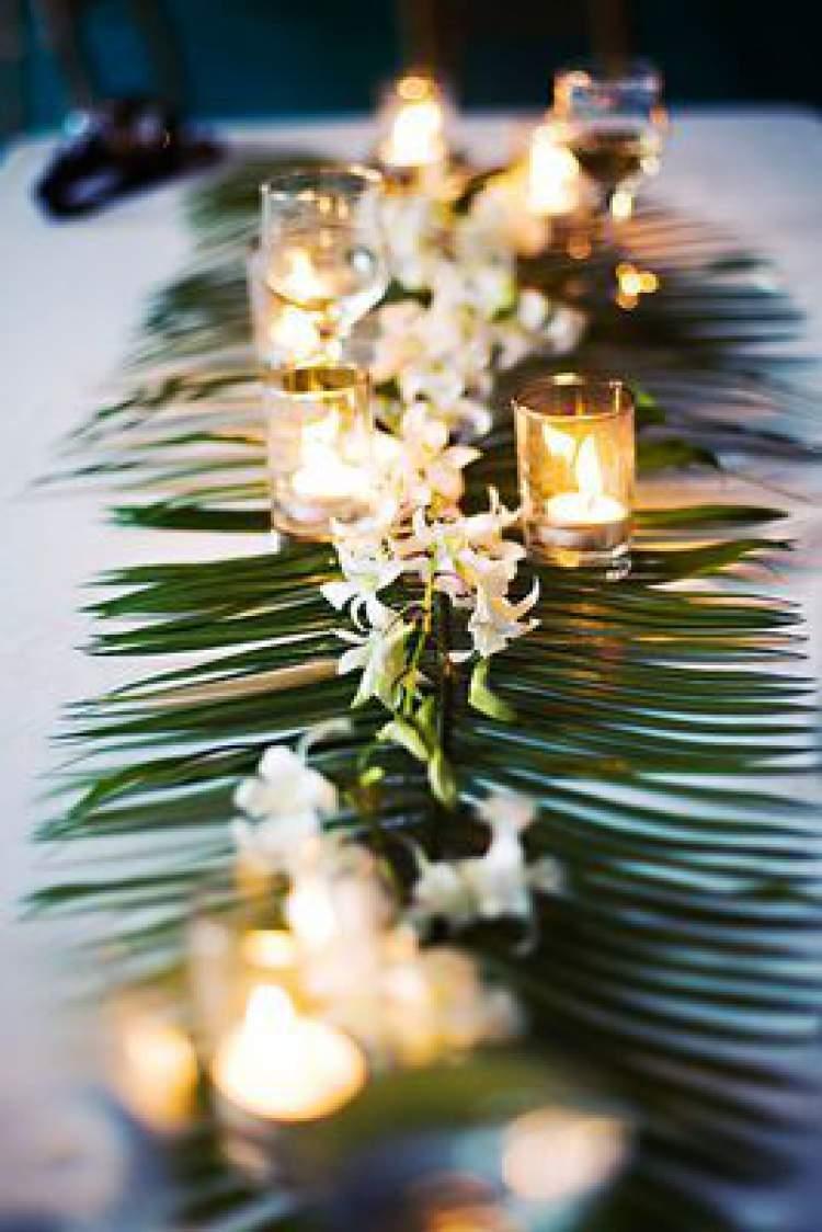 Sugestão para decorar o casamento