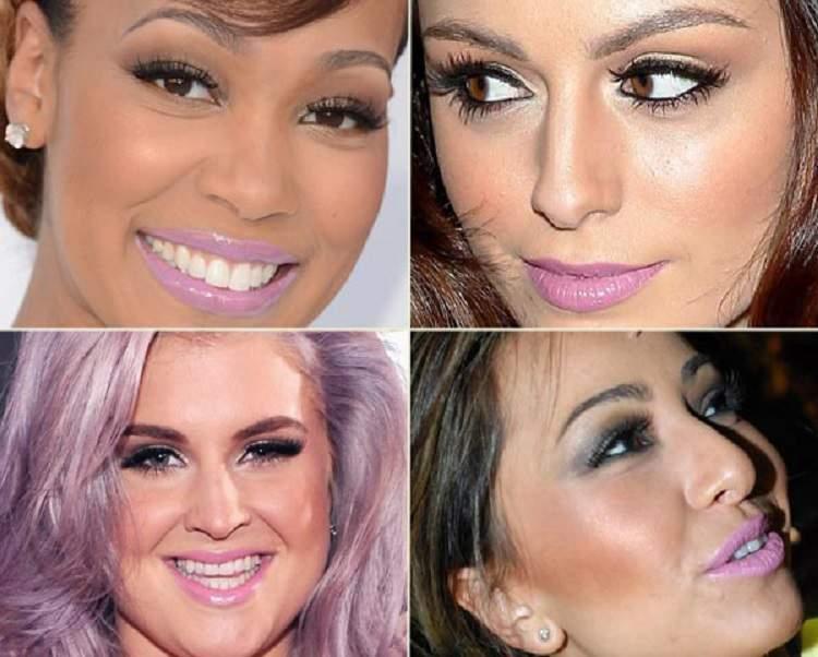 Batom lilás deixa os dentes mais claros e o sorriso mais poderoso