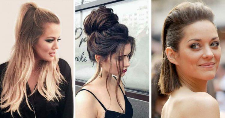 Lista de 10 ideias de penteados para cabelos 2018