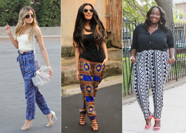10 ideias de look com calça estampada - Site de Beleza e Moda 0d55818b386
