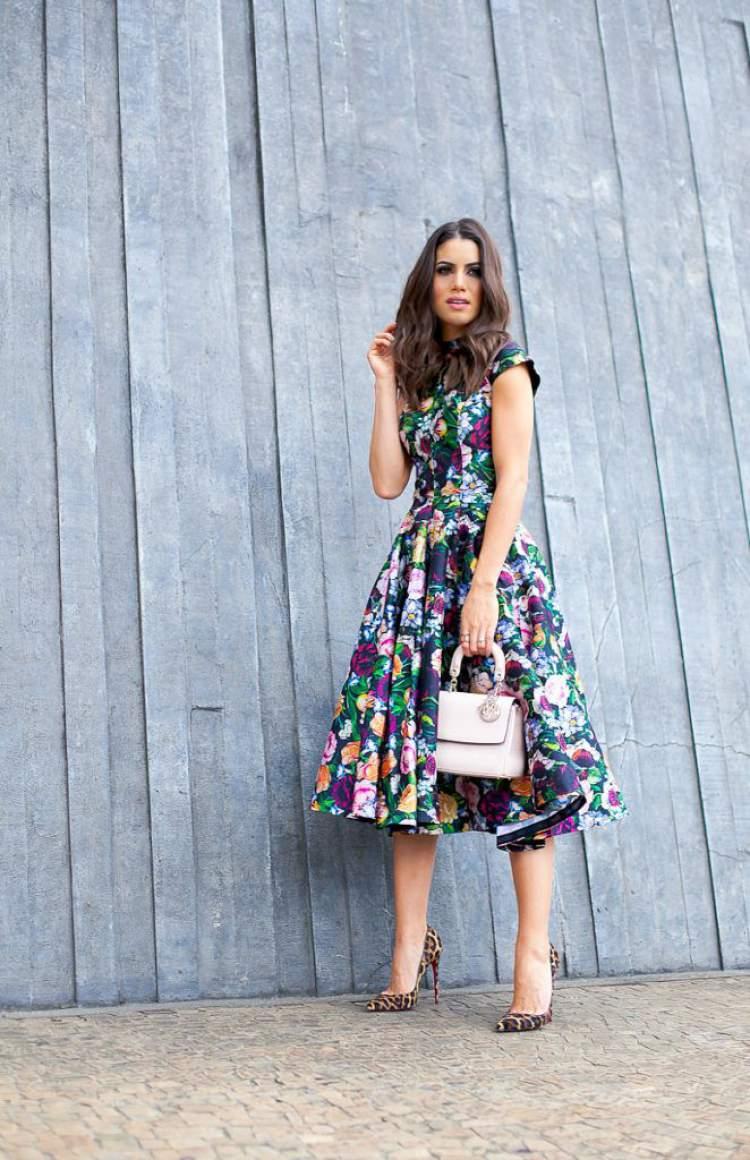 Mix de estampas entre as tendências da moda evangélica 2018 que você vai querer usar