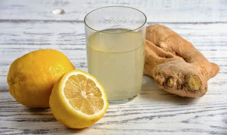 Suco de gengibre e limão ajuda eliminar gordura em pouco tempo