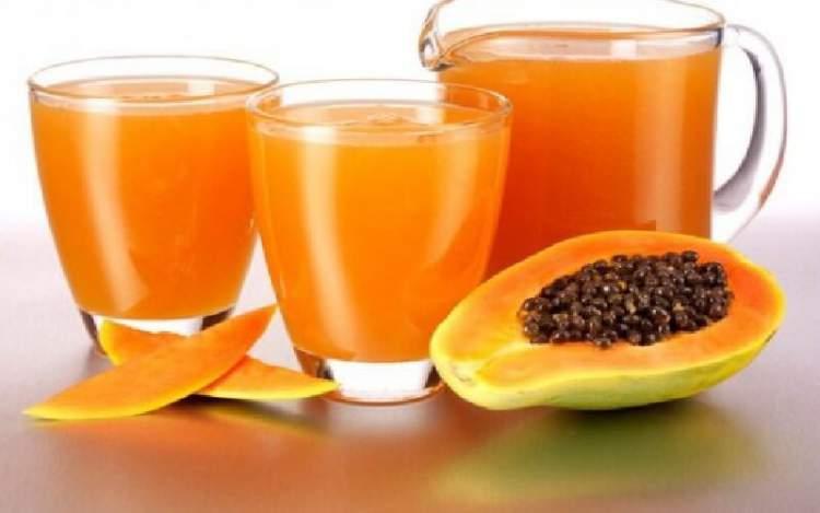 Suco de mamão ajuda a eliminar gordura em pouco tempo