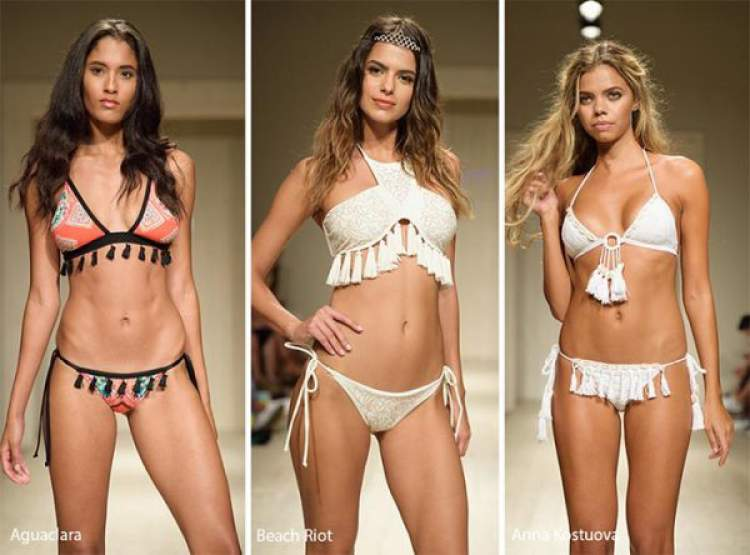 Tassel entre as principais Tendências da moda praia 2018