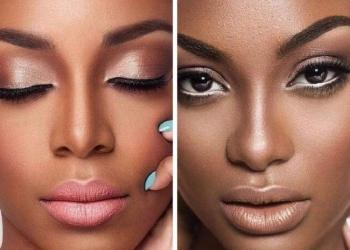 Conselhos de maquiagem para quem tem a pele negra