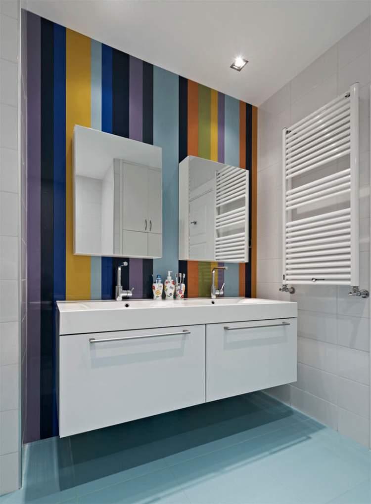 22 truques para deixar um banheiro pequeno mais espaçoso  Site de Beleza e Mo -> Banheiro Pequeno Creme