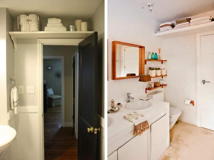 22 truques para deixar um banheiro pequeno mais espaçoso  Site de Beleza e Moda -> Banheiro Pequeno Creme